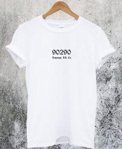 90290 Topanga Los Angeles California T-Shirt