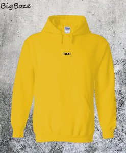 Taxi Yellow Hoodie