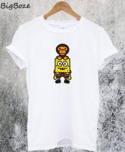 Spongebob Monkey T-Shirt