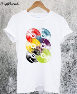 Colorful Disc T-Shirt