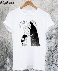 Spirit Away No Face Cute T-Shirt