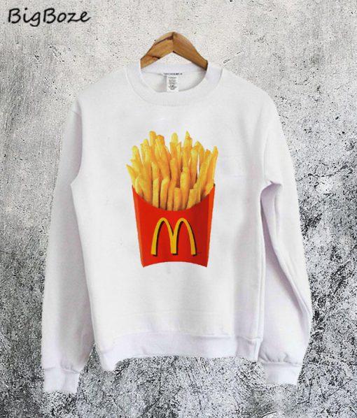 McDonalds French Fry Sweatshirt