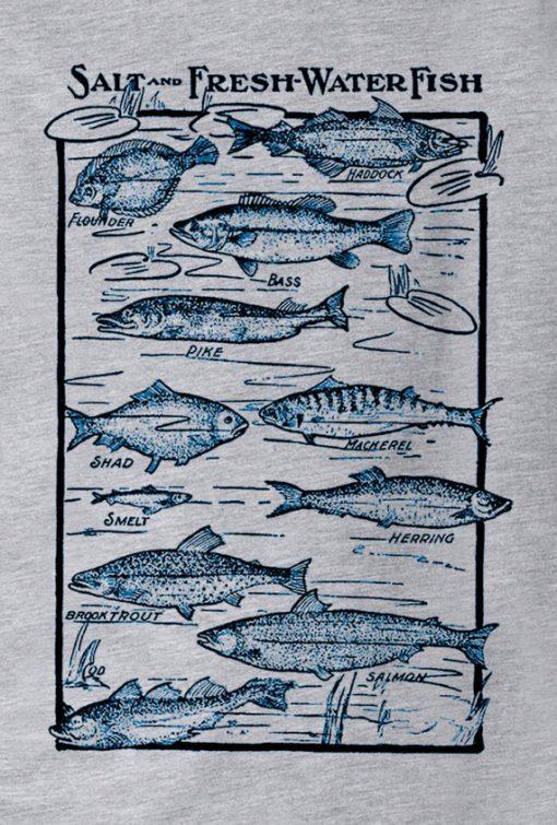 Salt and fresh Water Fish T-Shirt