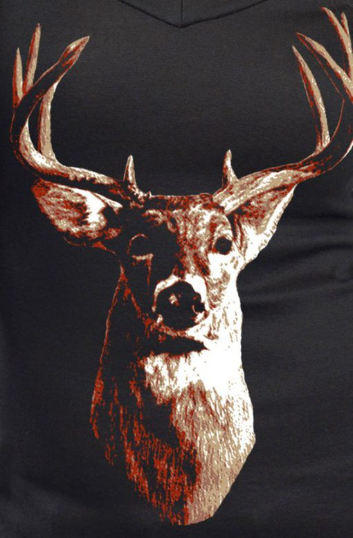 Deer Head Sweatshirt