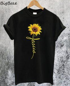 Sunflower Jesus T-Shirt