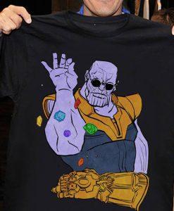 Thanos Salt Bae Meme T-Shirt