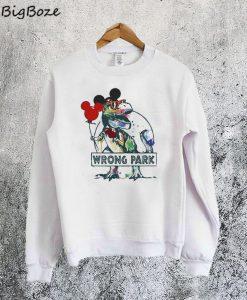 Wrong Park T-Rex Sweatshirt