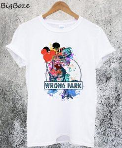 Wrong Park T-Rex T-Shirt