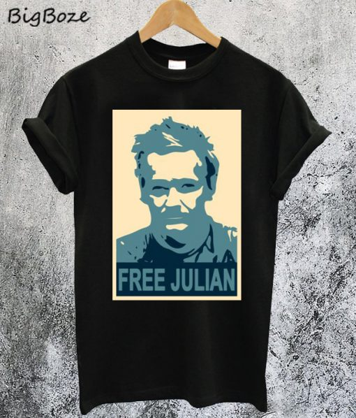 Free Julian Assange T-Shirt