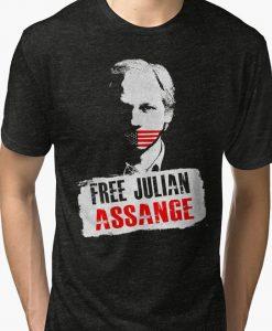 Free Julian Assange Unisex T-Shirt