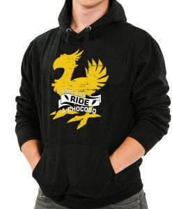 Save Gas Ride A Chocobo Final Fantasy Hoodie