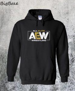 AEW Logo - All Elite Wrestling Hoodie