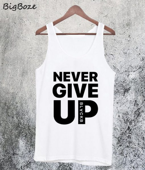 Mohamed Salah Never Give Up Tanktop