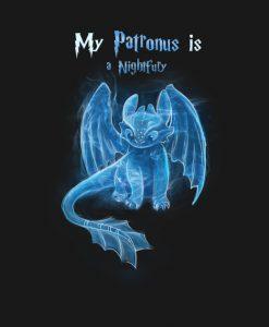 My Patronus Is Night Fury Toothless T-Shirt