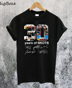 30 Years of New Kids On The Block T-Shirt