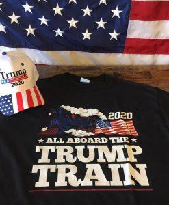 All Aboard The Donald Trump Train 2020 Sweatshirt
