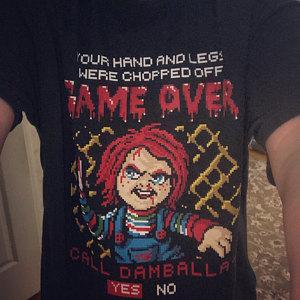Game Over Call Damballa Chucky T-Shirt