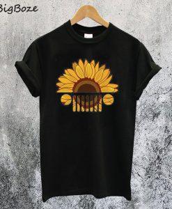 Sunflower Jeep T-Shirt