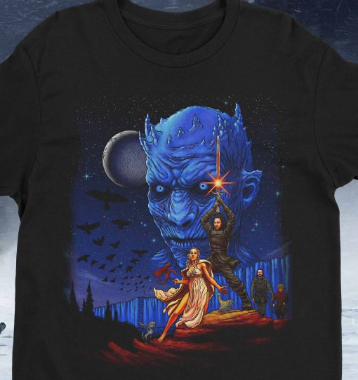 Throne Wars I Am the Sword in the Darkness Watcher T-Shirt