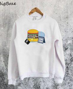 Triple Meat Whataburger Liberal Sweatshirt