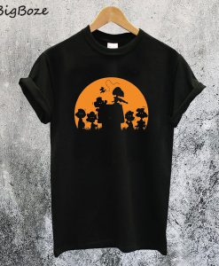Zombie Charlie Brown Halloween T-Shirt