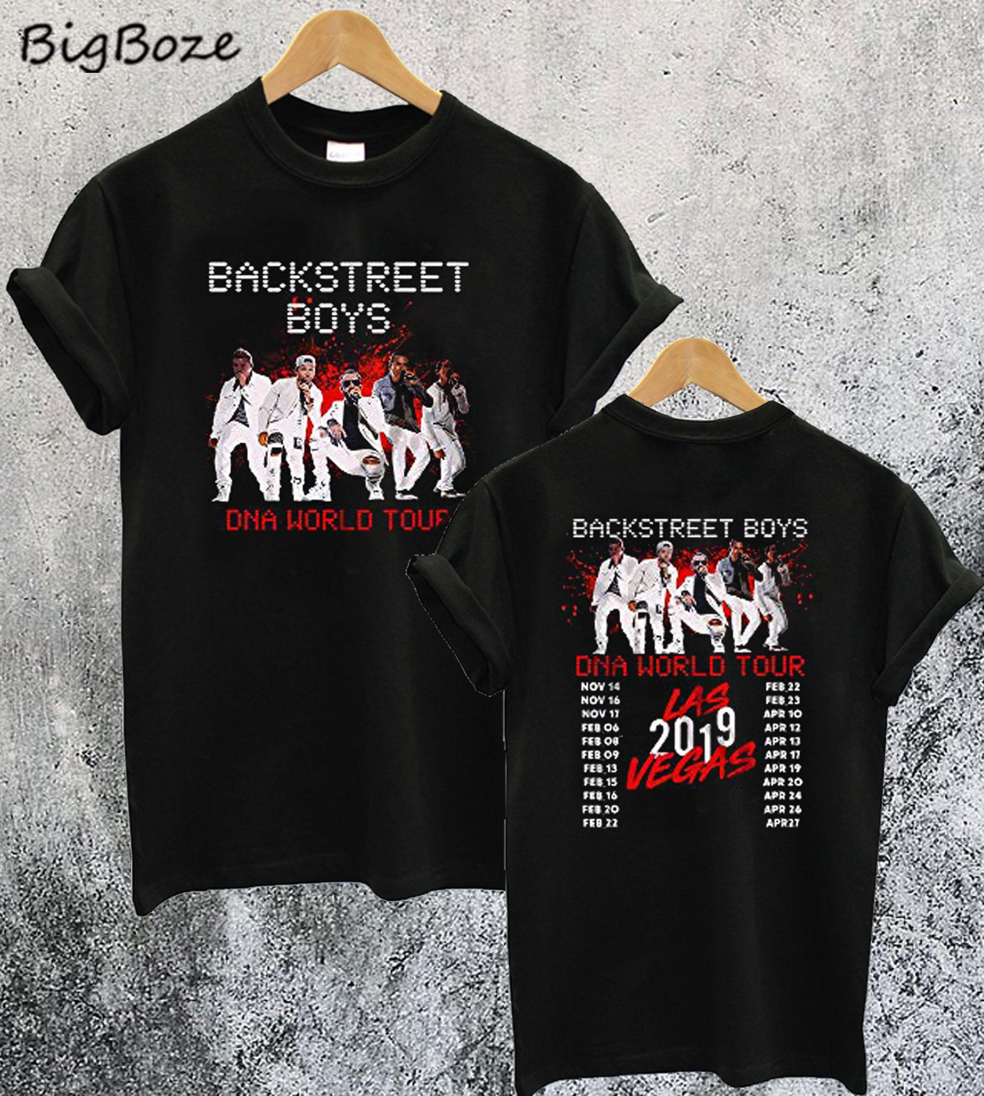 Backstreet Boys DNA World Tour Concert 2019 T-Shirt