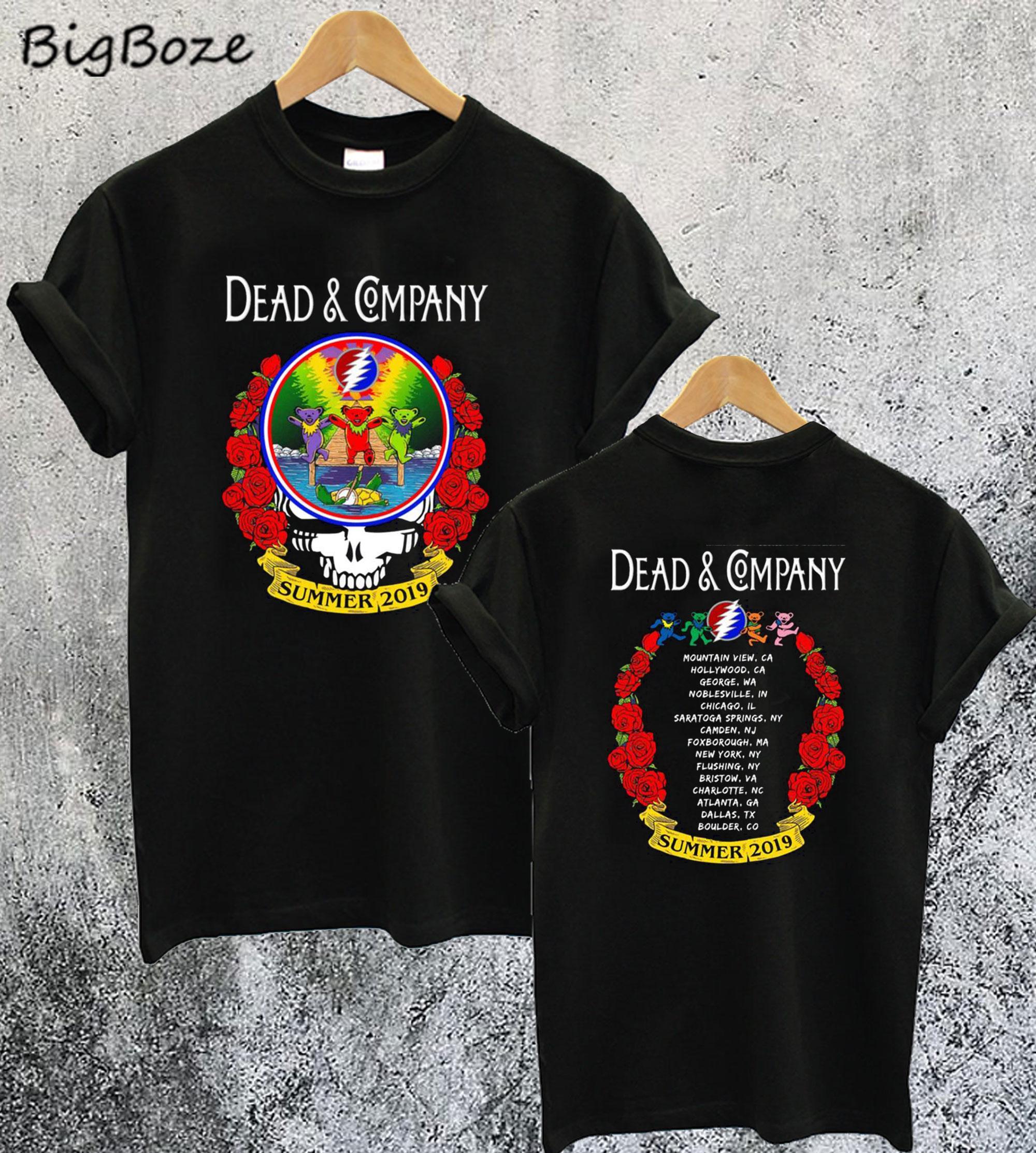Dead & Company Summer Tour 2019 T-Shirt