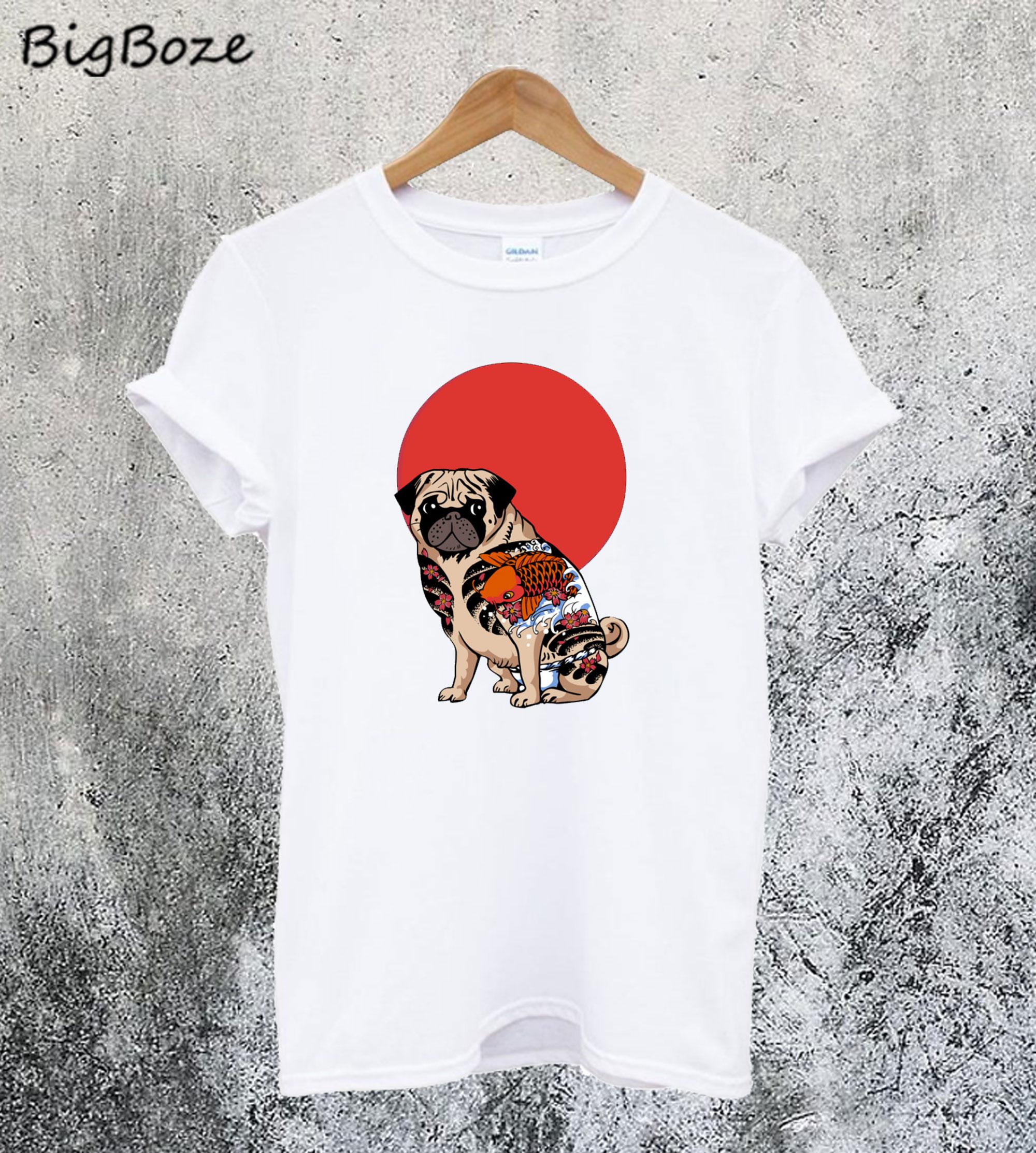 Yakuza Pug T-Shirt