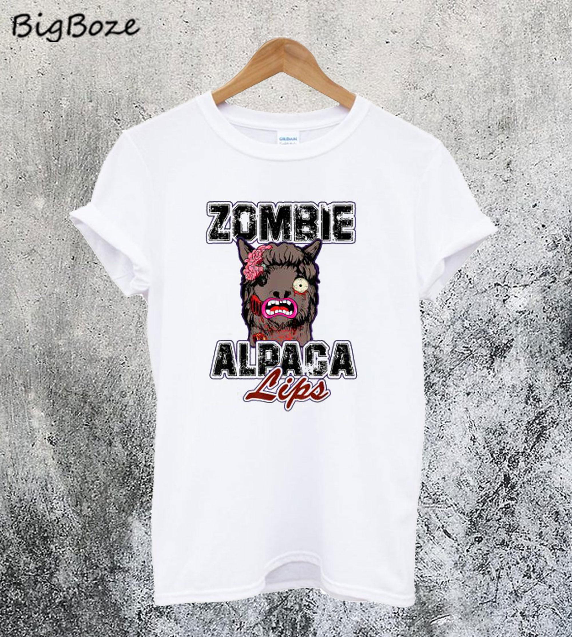 Zombie Alpaca T-Shirt
