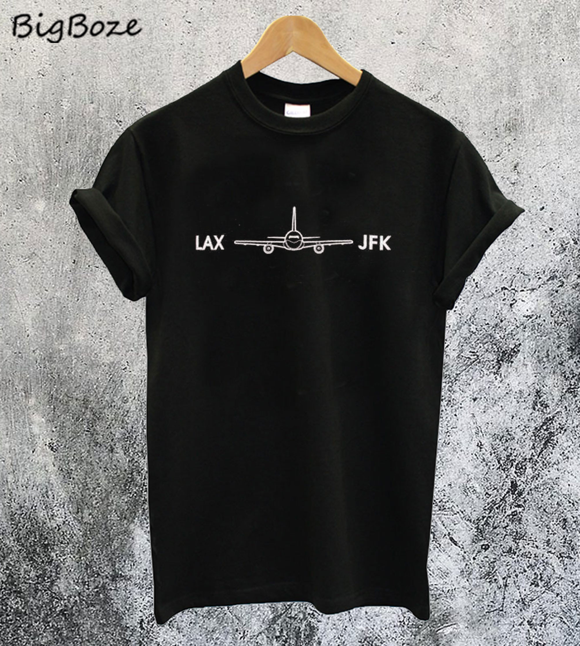 Dilascia LAX To JFK T-Shirt