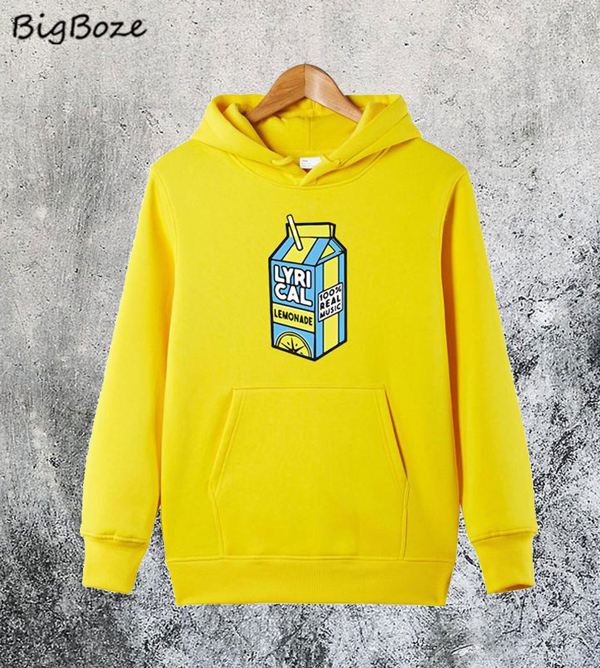 Lyrical Lemonade Yellow Hoodie