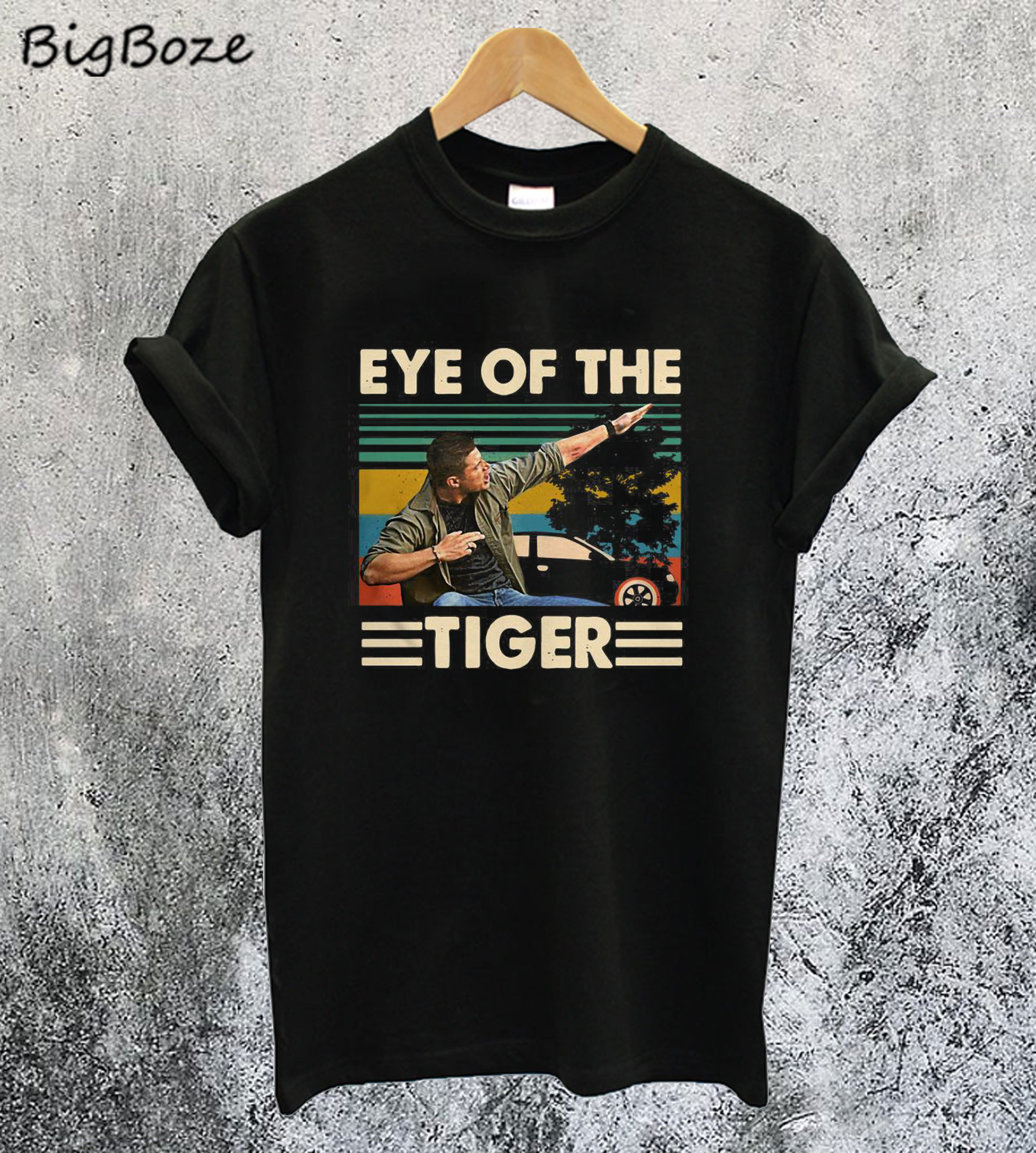 Supernatural Dean Eye of the Tiger T-Shirt