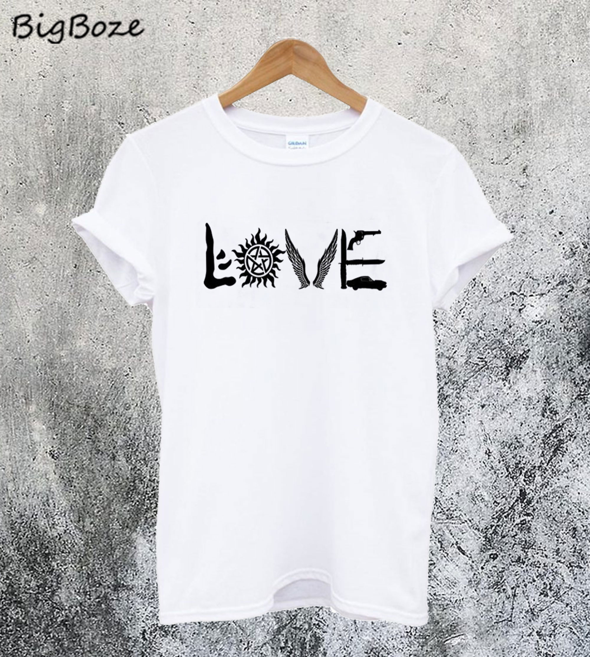 Supernatural Love Inspired T-Shirt