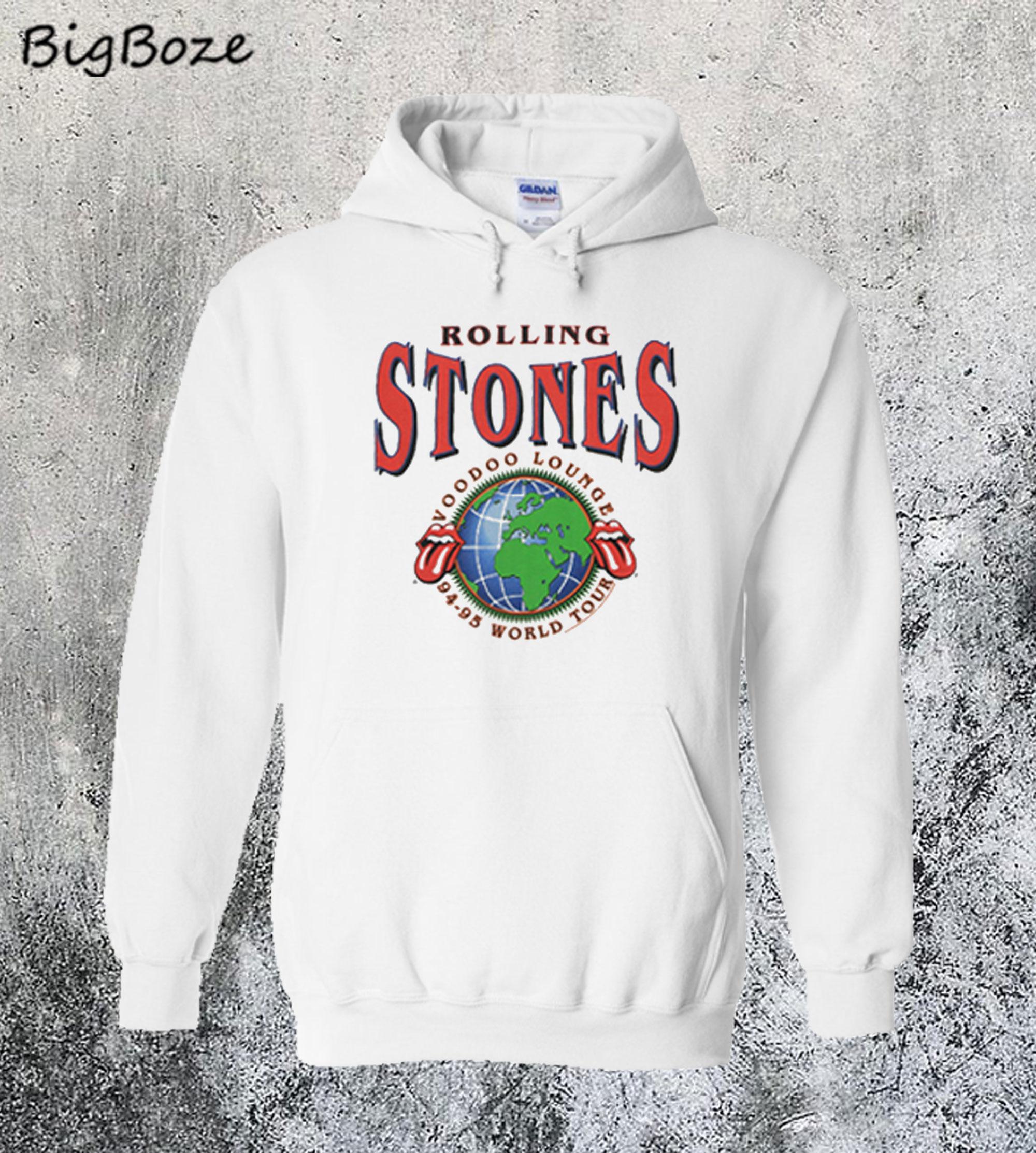 Rolling Stones Voodoo Lounge Hoodie