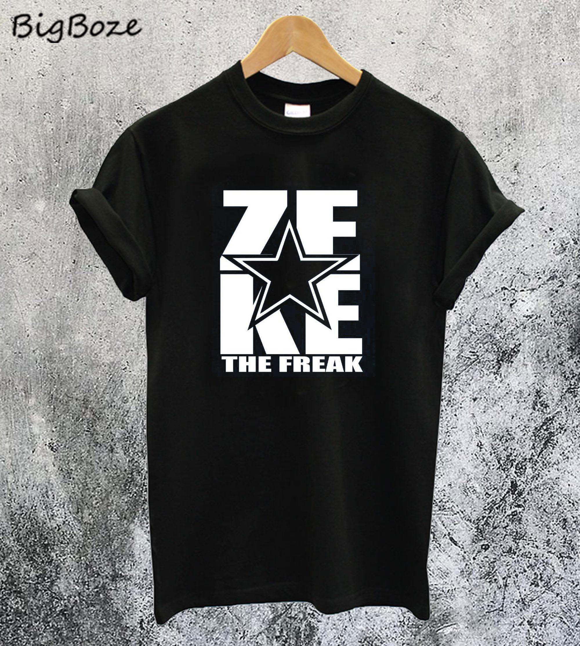 Zeke Ezekiel Elliott The Freak T-Shirt