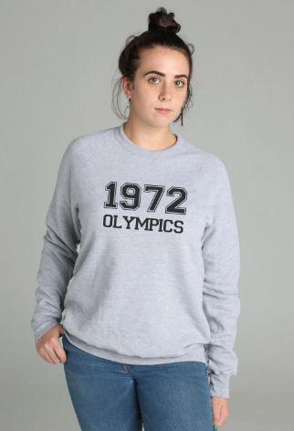 1972 Olympics Sweatshirt Grey