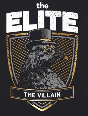 The Elite Raven The Villain T-Shirt
