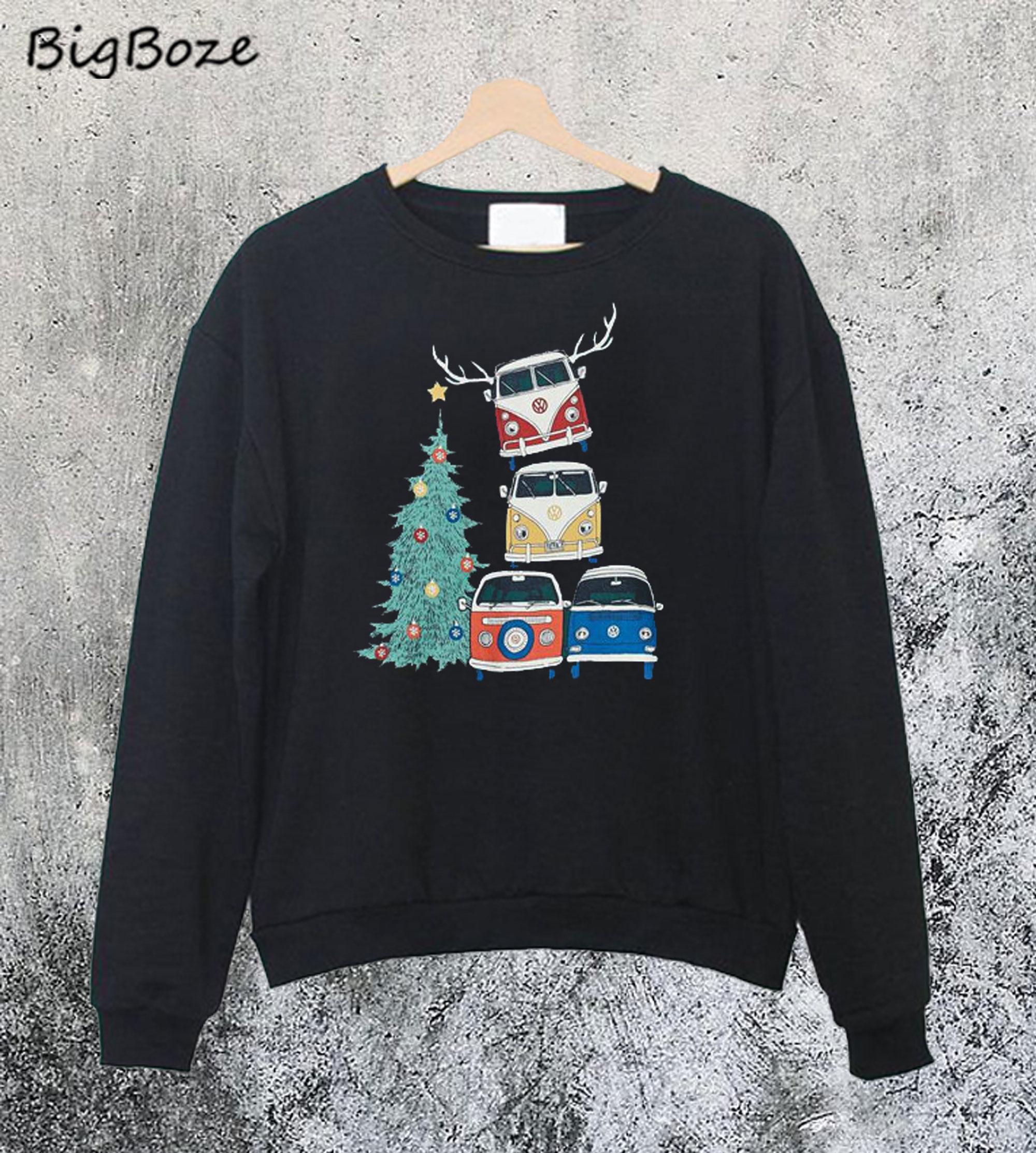 VW Christmas Graphic Sweatshirt