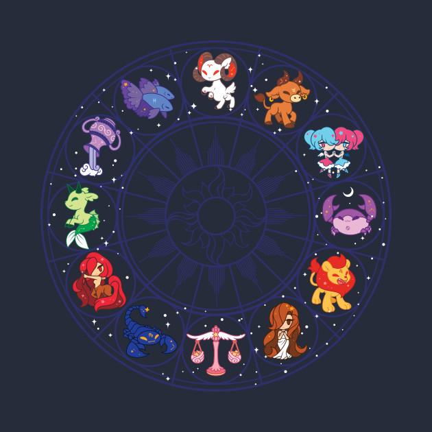 Greek Zodiac Friends T-Shirt