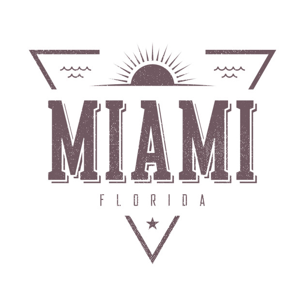 Miami Florida Beach T-Shirt
