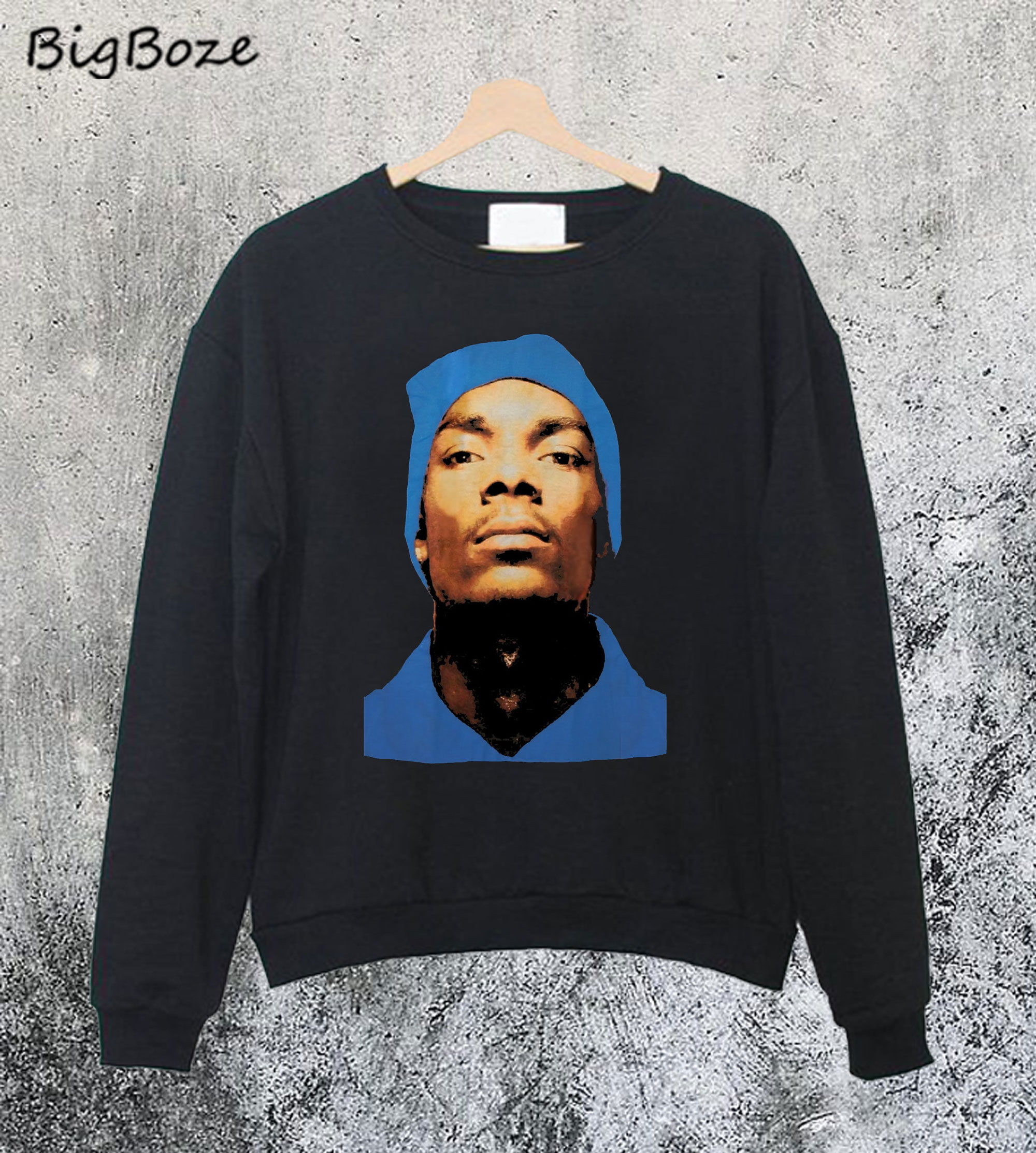 Snoop Dogg Beanie Profile Hip Hop Sweatshirt