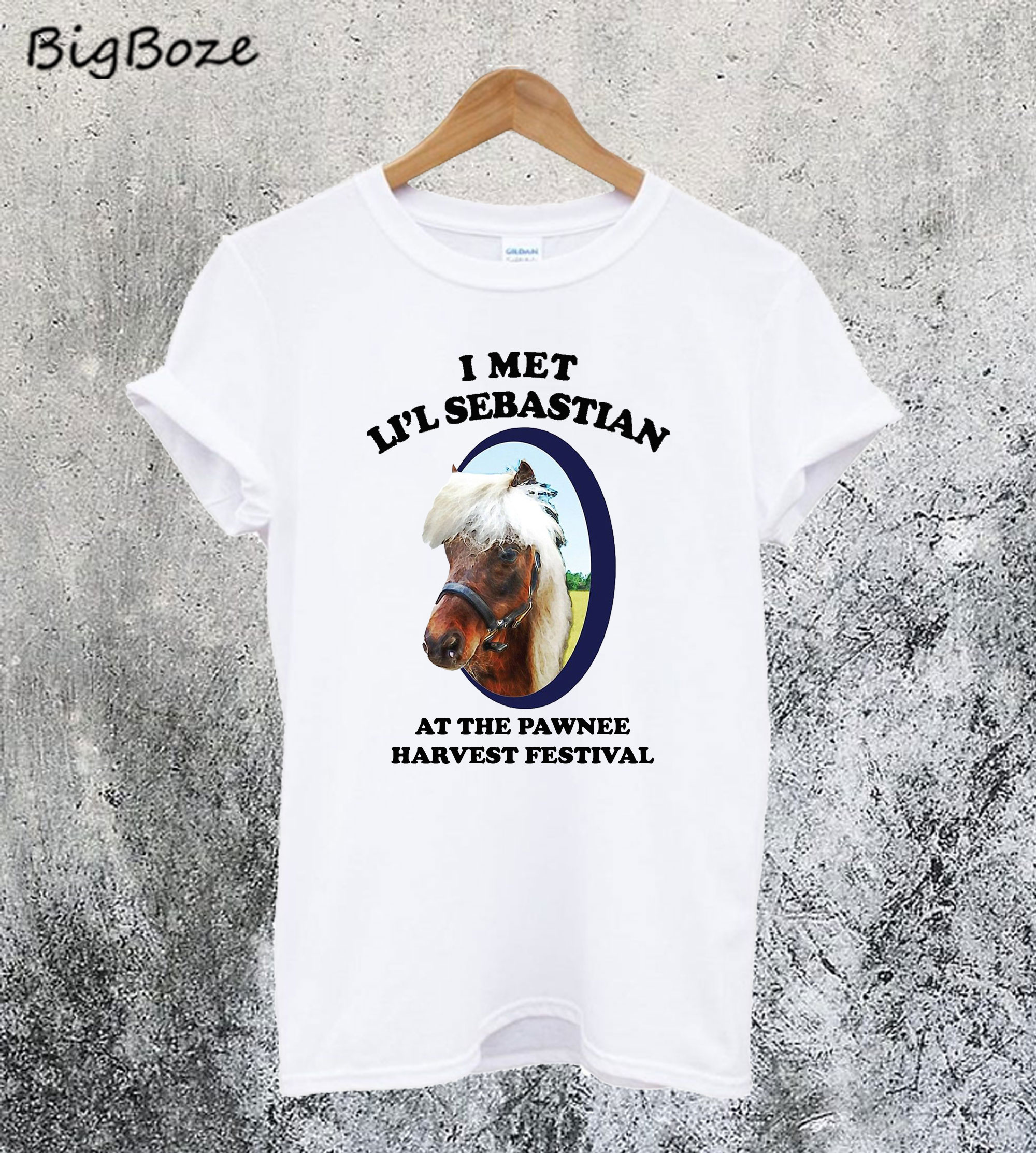 I Met Lil Sebastian At The Pawnee Festival T-Shirt