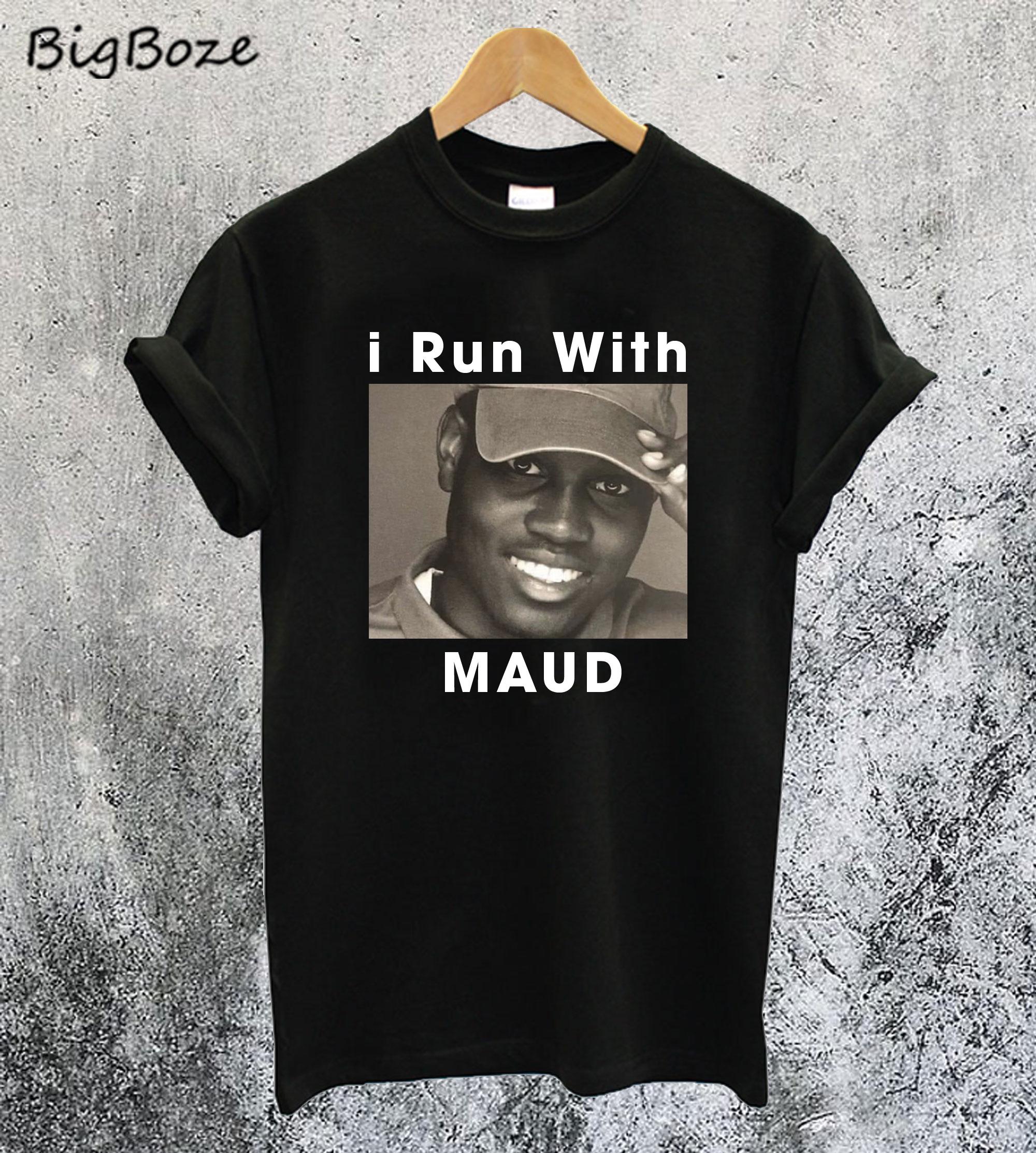 I Run With Ahmaud Arbery T-Shirt